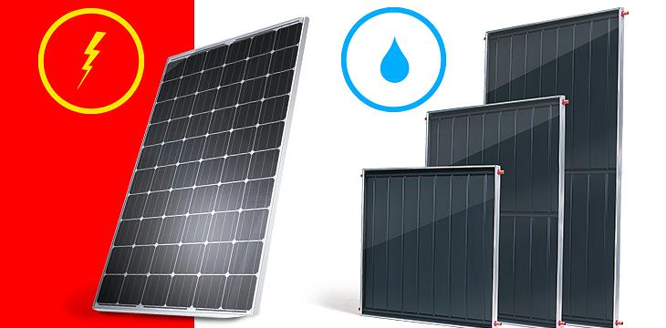 Conheça a diferença entre o módulo fotovoltaico e o aquecedor solar